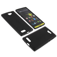 Case for Archos 50 Diamond Cell Phone Pocket Cases TPU Rubber Case Black