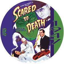 """Scared to Death (1947) Thriller and Mystery """"B"""" NR CULT Movie DVD"""