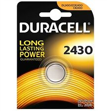 1 pila Duracell boton bateria Cr2430 de litio 3V Lithium Dl2430 Cr2430n Ecr2430