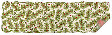 Christmas Holly Berry's Reversible Quilted Table Runner