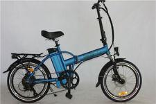 GREEN BIKE USA GB1 folding electric bicycle, 500W,big 48V/10AH Battery,USB BLUE