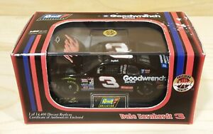 Dale Earnhardt #3 GM Goodwrench Revell Black Chevy MIB w Display Case