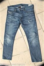 jeans destroy pitillo pitillo hombre DIESEL modelo thavar TALLA W30 L30