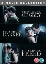 Fifty Shades 3 Movie Collection DVD Boxset 50 Shades of Grey Freed Darker NEW