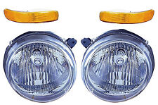 2002 2003 2004 JEEP LIBERTY HEAD & SIGNALIGHT LAMP COMBO SET RIGHT & LEFT