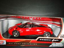 Motormax Pagani Huayra Red 1/24