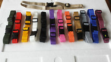 "25mm Adjustable Webbing Fastening Belt ( 1"" ) any colour Quick Release, 1strap"