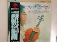 KYUNG-WHA CHUNG Bruch Violin Concerto JAPAN SUPER ANALOGUE KING KIJC-9133 LP OBI