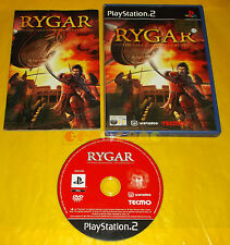 RYGAR THE LEGENDARY ADVENTURE Ps2 Versione Italiana 1ª Edizione ○○ COMPLETO - BU