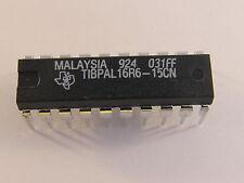 4 Stück TIBPAL16R6-15CNT TI High Performance Impact PAL (AE16/1094)