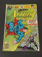 """1976 DC Comics, #464 Oct., """"Superman Action Comics"""""""
