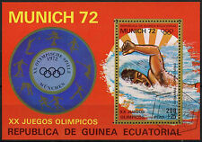 Guinea Ecuatorial Juegos Olímpicos de 1972, natación Cto utilizado m/s #a 92637