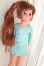 """Ideal Toy Corp. CRISSY Growing Red Hair 18"""" Vinyl Doll Vintage 1968 Original"""