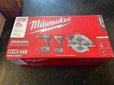 New Factory Sealed Milwaukee M18 3-Tool Combo Kit 2893-23Cx Set Driver Saw 4.0ah