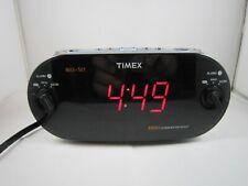 Timex XBBU Redi-Set Dual Alarm Clock Radio AM/FM Large Digital Display No. T715