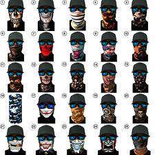 Neck Gaiter Face Fishing Balaclava Bandana Scarf Sun Headband Mask 39 Styles