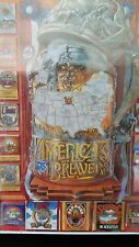 1995 Factory Sealed - America's Brewers Jigsaw Puzzle - 1000 pcs - White Moutain