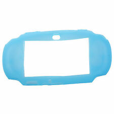 Blue Soft Silicone Protective Case Cover Skin for Sony PlayStation PS Vita R6q4