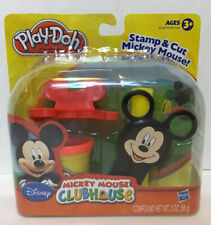 Mickey Mouse Clubhouse Play-Doh Stamp & Cut Mickey Mouse!