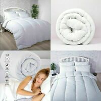 LUXURY HOTEL QUALITY DUVET SINGLE DOUBLE SUPER KING SIZE QUILTS 10.5 13.5 15 TOG