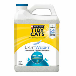 Tidy Cats Light Weight Instant Action Clumping Multi Cat Litter, 8.5 lb ✔️✔️✔️