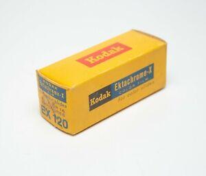 1 roll 120 Kodak Ektachrome-X ISO 64 Daylight Color Slide Film Expired 1973