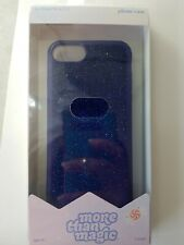 NEW Velvet lMore Than Magic Phone Case for iPhone 6/6S/7/8 - Blue Sparkly