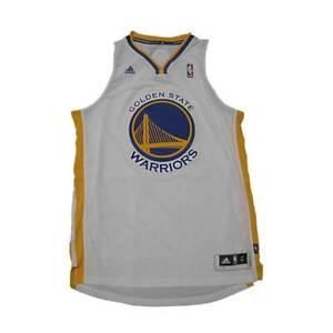 NEW NBA Golden State Warriors Basketball Jersey Swingman White Large Adidas