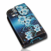 Design 2 Flip Tasche Cover Case Handy Hülle für Samsung S5300 Galaxy Pocket