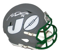 SAM DARNOLD AUTOGRAPHED SIGNED NEW YORK JETS AMP SPEED MINI HELMET BECKETT