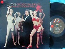Lee Konitz ORIG US LP Chicago 'N all that jazz EX '75 Groove Merchant Jazz Bop
