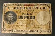 More details for un peso puerto rico banknote , 1 peso
