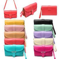 Women Leather Satchel Shoulder Messenger Bag Handbag Cross Body Hobo Tote Purse