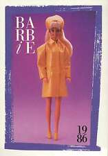 """Barbie Collectible Fashion Card """" My First Barbie Fashions """" 1986"""