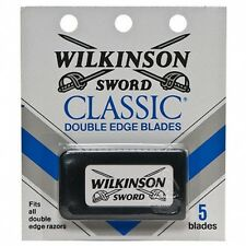 100 Wilkinson Sword CLASSIC Double Edge Razor Blades - Made in ENGLAND 100%