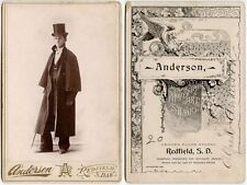 ACTOR BY ALFONSO ANDERSON, SOUTH DAKOTA, CABINET PHOTO