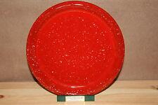 Winterling Speiseteller rot / weiss  gepunktet 25 cm Neuware