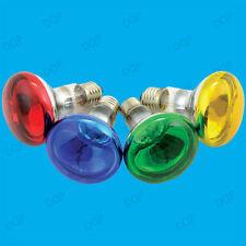 2x 60W R80 coloré Réflecteur à variation Disco Ampoules Spot Éclairage ES E27