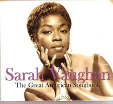 Sarah Vaughan - The Great American Songbook 2CD 2007 NEW/SEALED