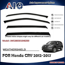 AD WEATHERSHIELD WINDOW VISOR WEATHER SHIELD FOR HONDA CRV CR-V 2012-2017