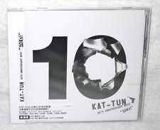 KAT-TUN 10TH ANNIVERSARY BEST 10Ks 2016 Taiwan Ltd 2-CD+30P+poster