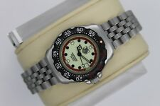 Tag Heuer WA1411.BA0495 Formula 1 Watch Womens Black Red SS Professional Silver