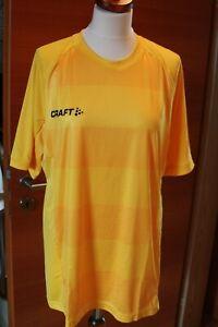 Lauf Sport Shirt von Craft Gr. L Herren Gelb NEU ohne Etikett