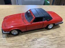 Tonka Polistil 1/25 Scale Jaguar XJS V12 Convertible Red Die Cast Model Car