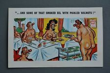 R&L Postcard: Sunny Pedro Comic 174 Hudist Camp Hotel Diners Restaurant