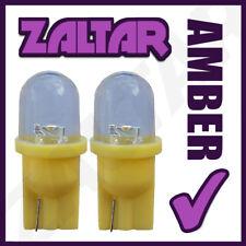 2x Amber Led Light Lamp 12v 501 Sidelight Bulbs Piaggio-vespa Gts 250 I.e