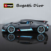 Bburago 1:18 Scale Die Cast Metal Model Bugatti Divo Car Collection Toy Vehicles