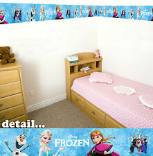 Disney Frozen Autoadhesivo Decorativo De Pared Borde - 5 metros en total