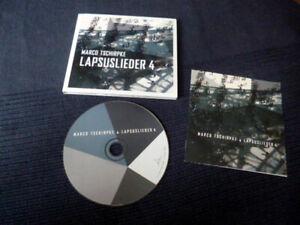 CD Marco Tschirpke - Lapsuslieder 4 Vom Füllen Des Wagens Aussicht Auf Zuneigung