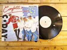 CONFETTI'S C DAY MAXI 45T NO LP VINYLE EX COVER EX ORIGINAL 1989